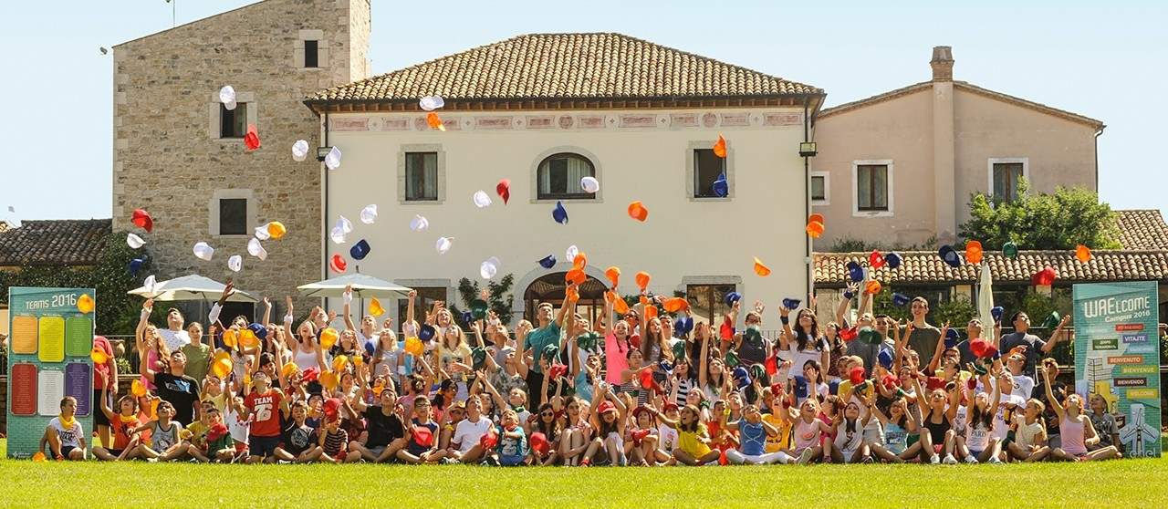 Kids from around the world participate in the Enel initiative
