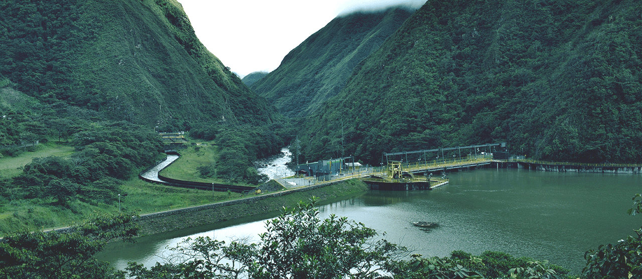 Hydraulic power plant of Enel Perú
