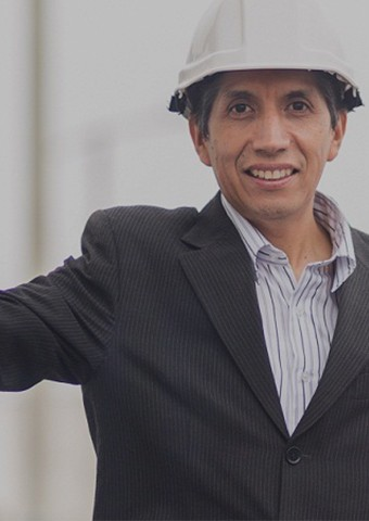Martín Chuquillanqui electric enegineer of Enel Distribución Perú
